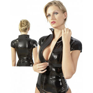 LateX triko na zip Jackie, S