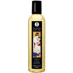 Shunga Serenity masážní olej monoi (250 ml)
