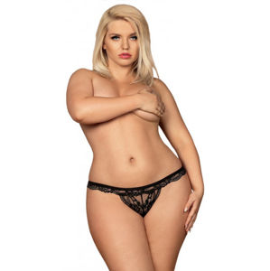 Plus size Obsessive tanga Royal