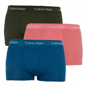 3PACK pánské boxerky Calvin Klein, vícebarevné, L